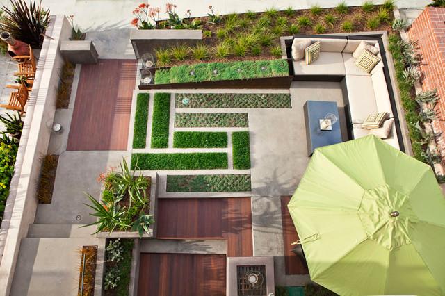 MTLA - Offield Residence modern-landscape