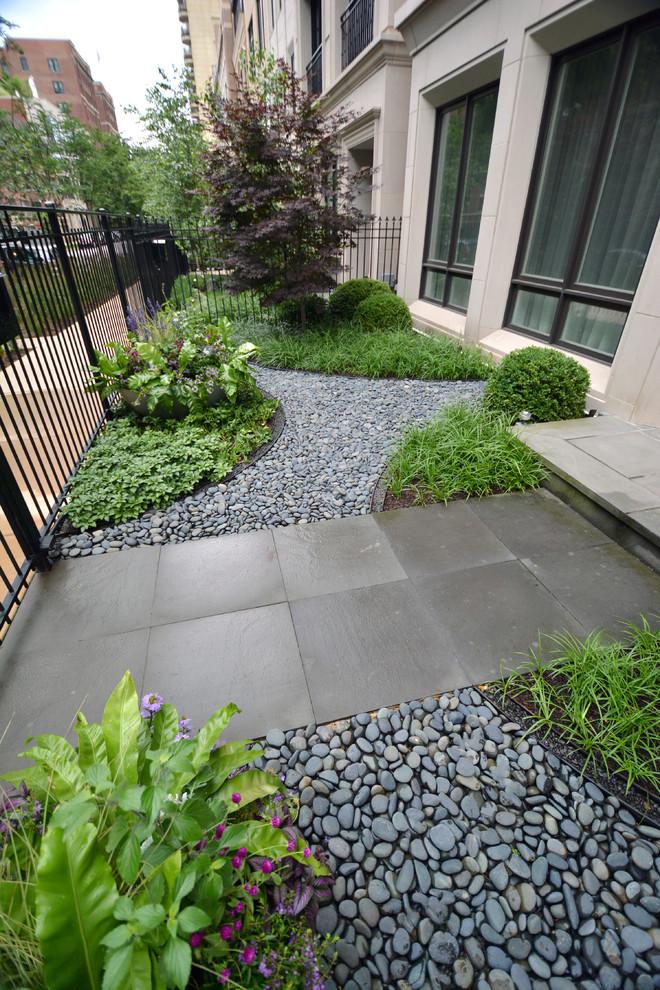 Multi-Level Urban Row House - Modern - Landscape - Chicago ...