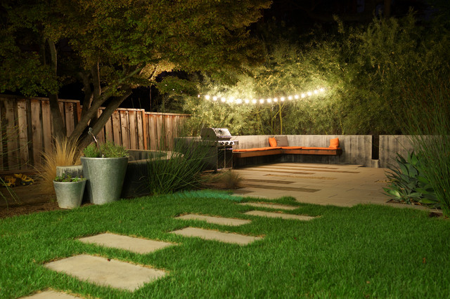 my houzz an edible backyard in an eichler home r tro jardin san francisco par hoi ning wong. Black Bedroom Furniture Sets. Home Design Ideas