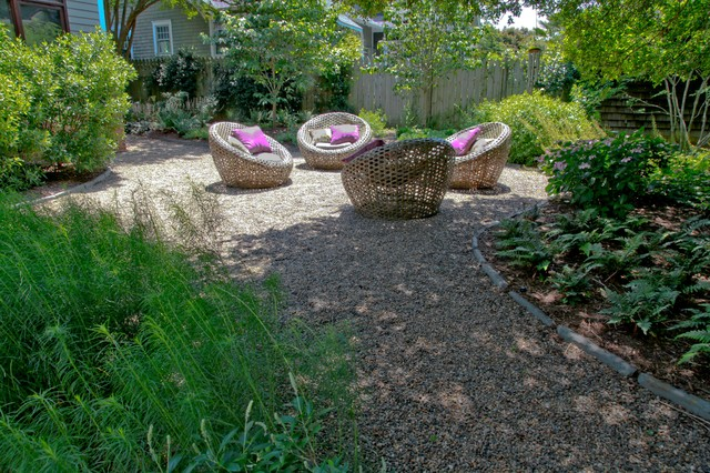 Myers Park Retreat traditional-landscape