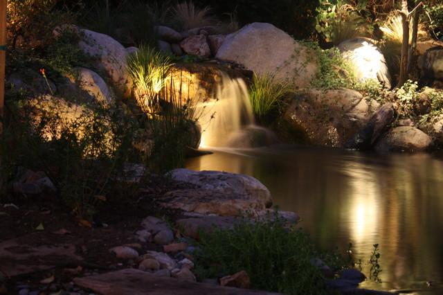 Delicieux Mystic Water Gardens Landscape Lighting Tropical Garden