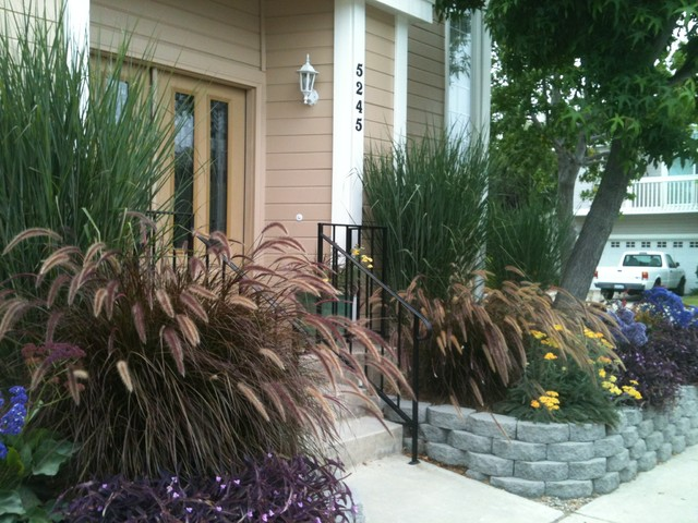 Naples, CA   One year after installation traditional-landscape