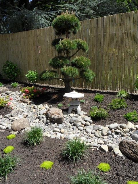 Narrow Japanese Garden Asian Landscape Portland By Plan It
