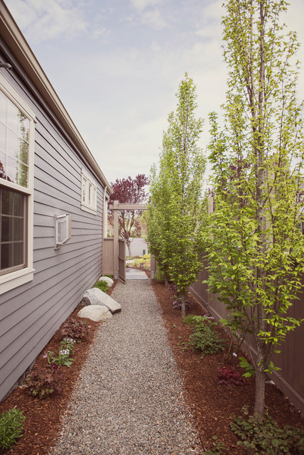 Narrow Side Yard Design - Modern - Garden - Other - by ... on Narrow Side Yard Landscaping id=68492