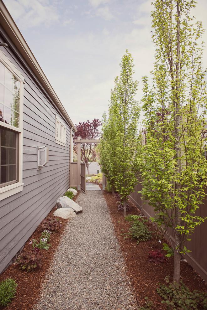 Narrow Side Yard Design - Modern - Landscape - Other - by ... on Narrow Side Yard Landscaping id=39742