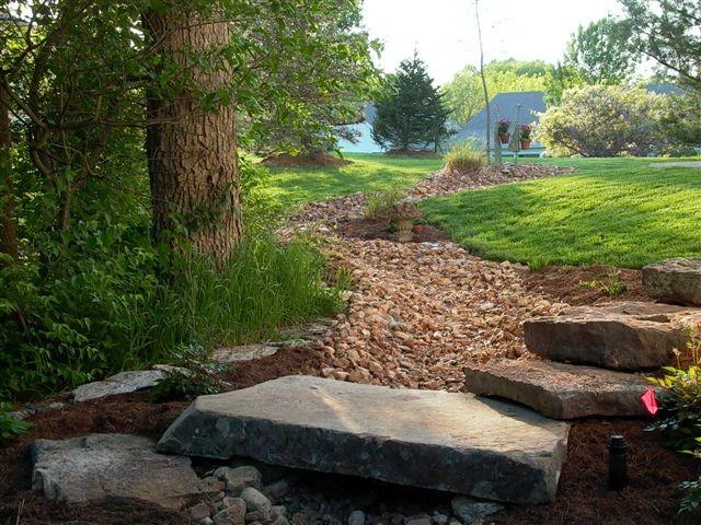 Natural Landscape - Dry Creeks traditional-landscape