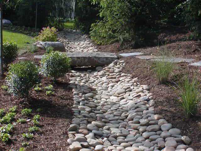 Natural Landscape Dry Creeks Traditional Landscape