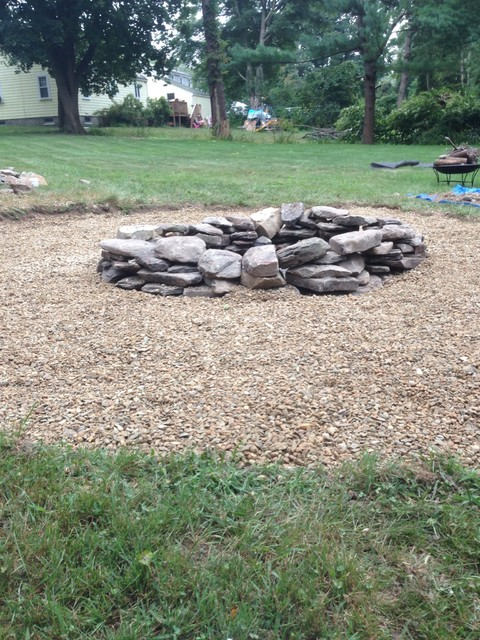 Natural Stone Outdoor Fire Pit