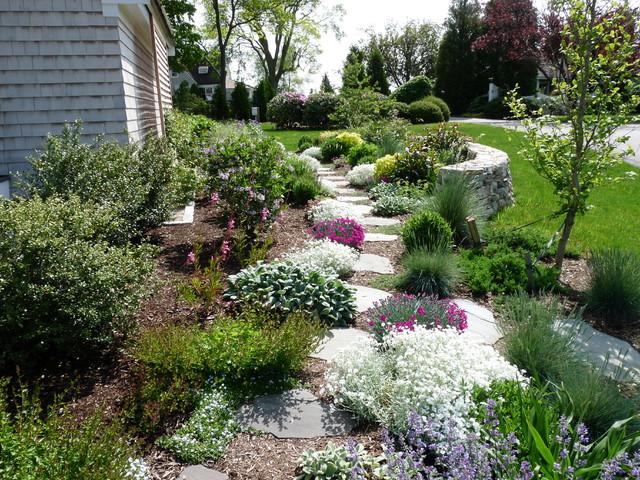 Stone Garden Steps Natural stone garden path and steps natural stone garden path and steps traditional garden workwithnaturefo