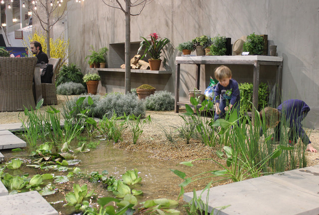 Natural Swimming Pool. 2014 Chicago Flower and Garden Show ...
