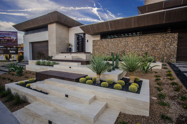 Contemporary Home Landscaping