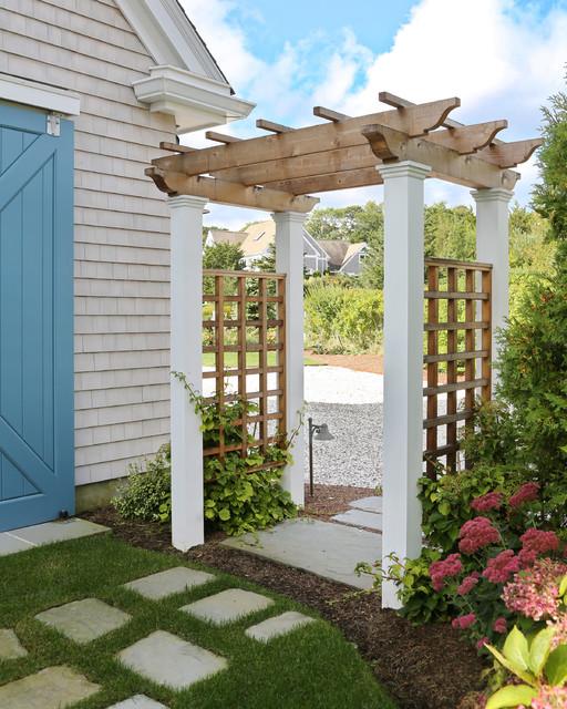New Cape Cod Home - Farmhouse - Landscape - Boston - by Encore Construction