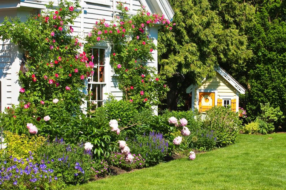 New England Backyard Traditional Landscape Boston By Trent Lloyd Design