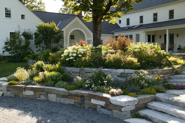 New england farmland traditional landscape boston for New landscape design