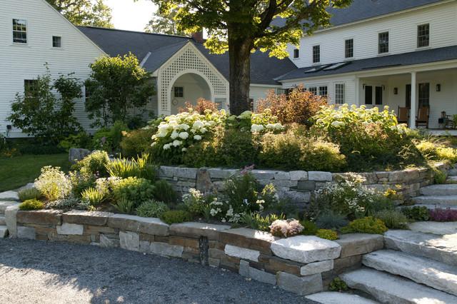 New England Farmland Traditional Landscape Boston By Julie