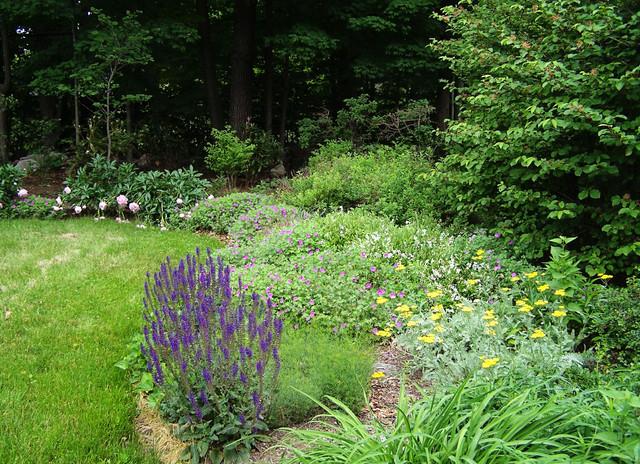 New England Perennial Flower Gardens - Eclectic ...