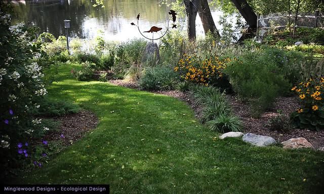 New England Perennial Flower Gardens eclectic-landscape
