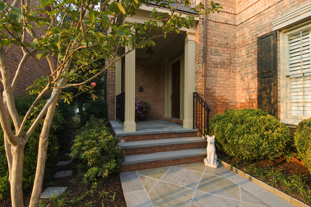 New Front Entry traditional-landscape