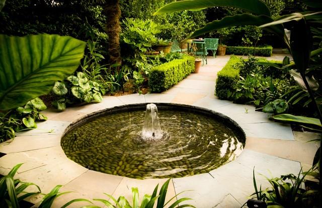 Courtyard Vistas Tropical Landscape new orleans by