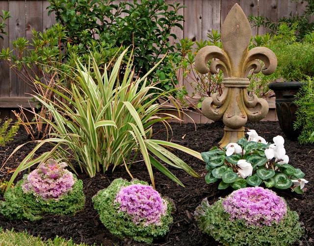 new orleans style backyard garden traditional landscape