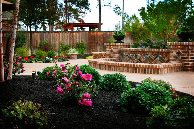 New Orleans Style Backyard Garden