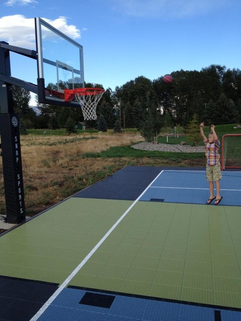New Snapsports Multi Sport Backyard Game Court
