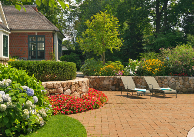 Newton pool traditional patio boston by sudbury for Houzz landscape architects