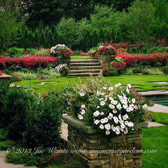 Nj garden design transitional landscape new york for Landscape design new york
