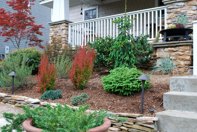 NJ Project Charlotte NC - Contemporary - Landscape - Other - By Jay Sifford Garden Design