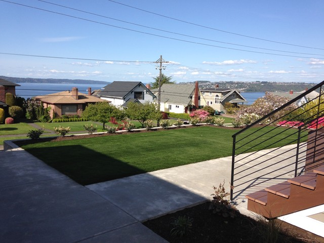 North Tacoma Home Contemporary Landscape Seattle By Nature By Design