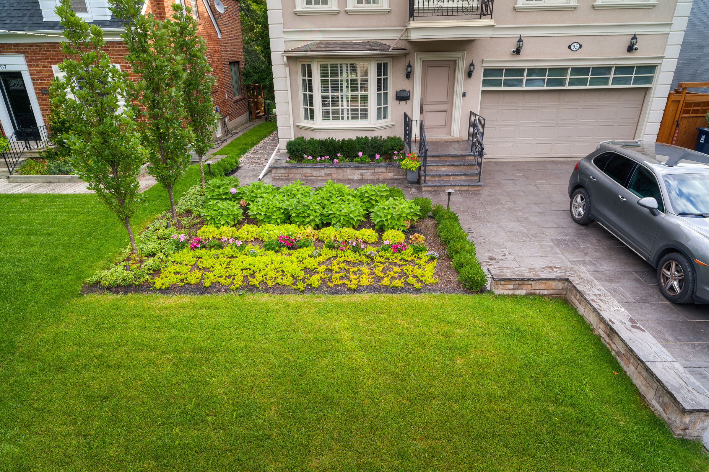 North York Front Yard Makeover