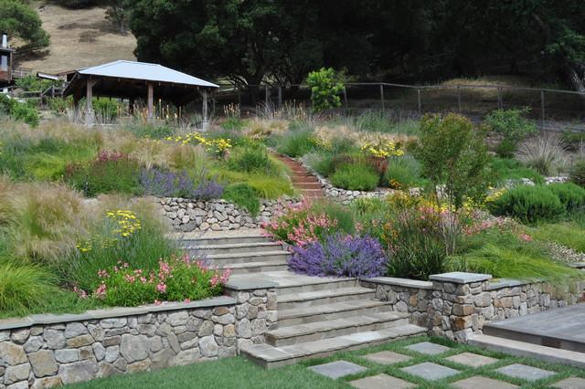 Northern California Regional Hillside - Mediterranean - Landscape - San Francisco - By Huettl ...