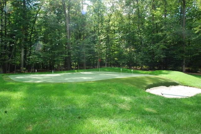 Northern virginia country estate eclectic landscape for Landscape design northern virginia