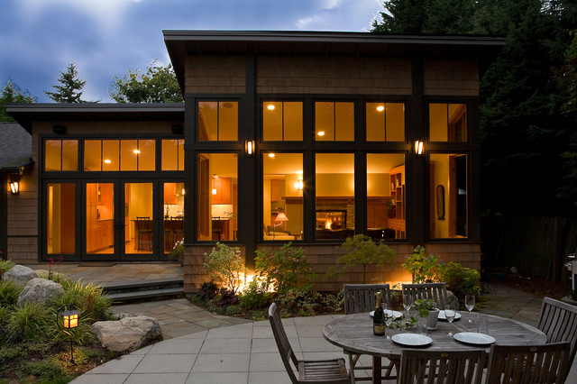 Northwest contemporary exterior - Northwest home designs ...