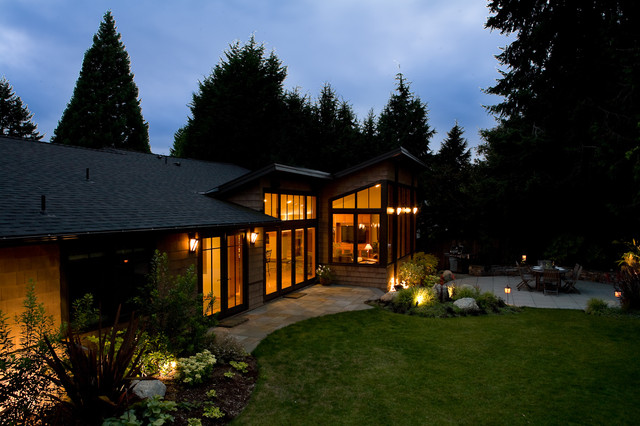 Northwest Contemporary Exterior contemporary landscape