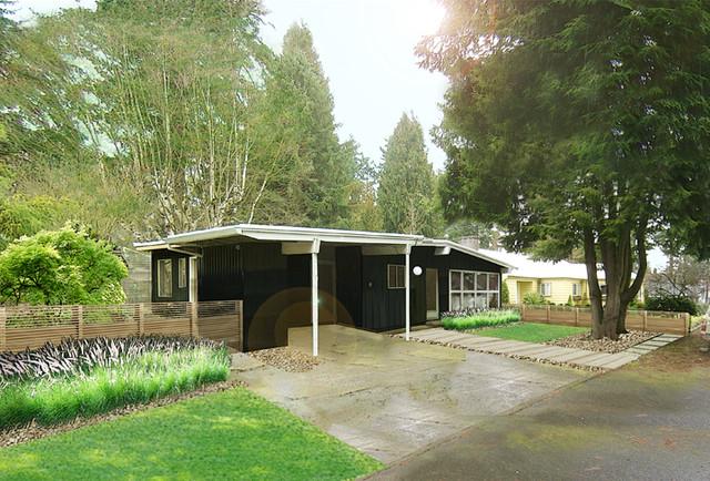 Northwest Mid Century Ranch
