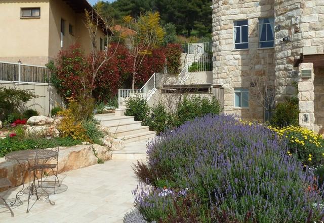 Number Of Levels Garden mediterranean-landscape