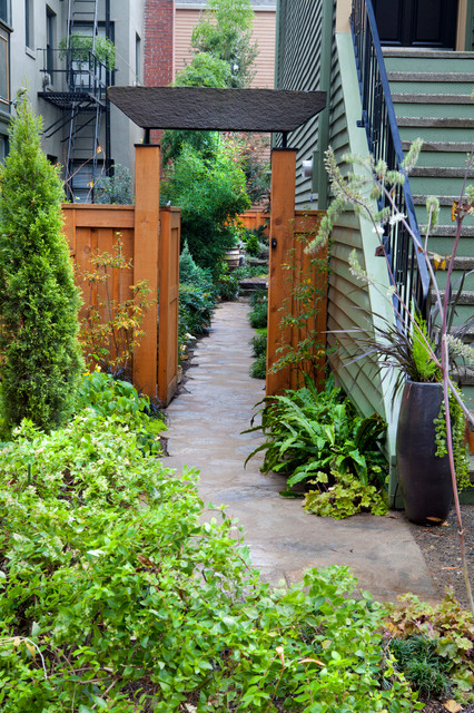 NW Portland Town Home contemporary-landscape