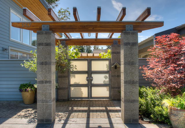 Entry Arbor Beach Style Entry Seattle By Dan