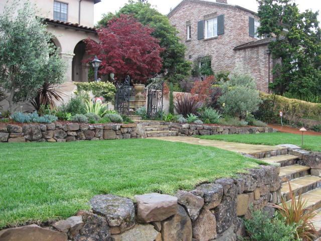 Oakland courtyard entry garden for Oakland landscape design