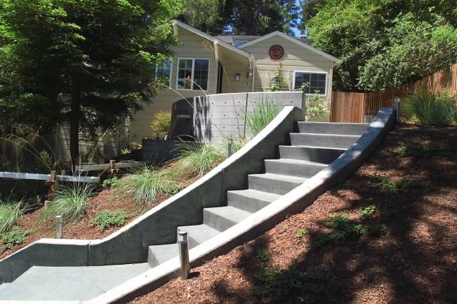 Oakland Water Garden contemporary-landscape