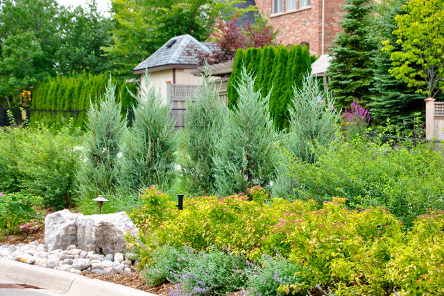 Backyard Landscaping Oakville : Oakville townhomes transformation traditional landscape toronto by home garden solutions