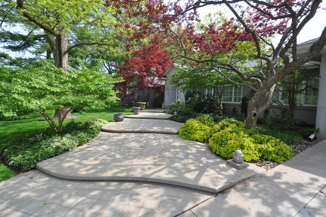 Backyard Landscaping Oakville : Oakville waterfront traditional landscape other by owen architect