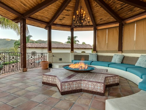 Is It Safe To Have A Fire Pit Under A Gazebo Or Pergola Outdoor Fire Pits Fireplaces Grills