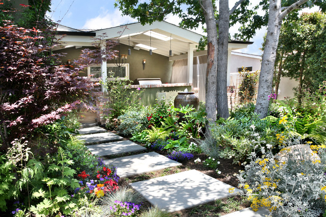 orange county california residential landscape design, Natural flower