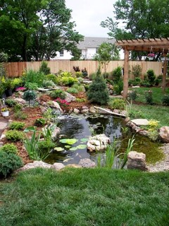 OKC Water Feature Design Center by Continental Ponds