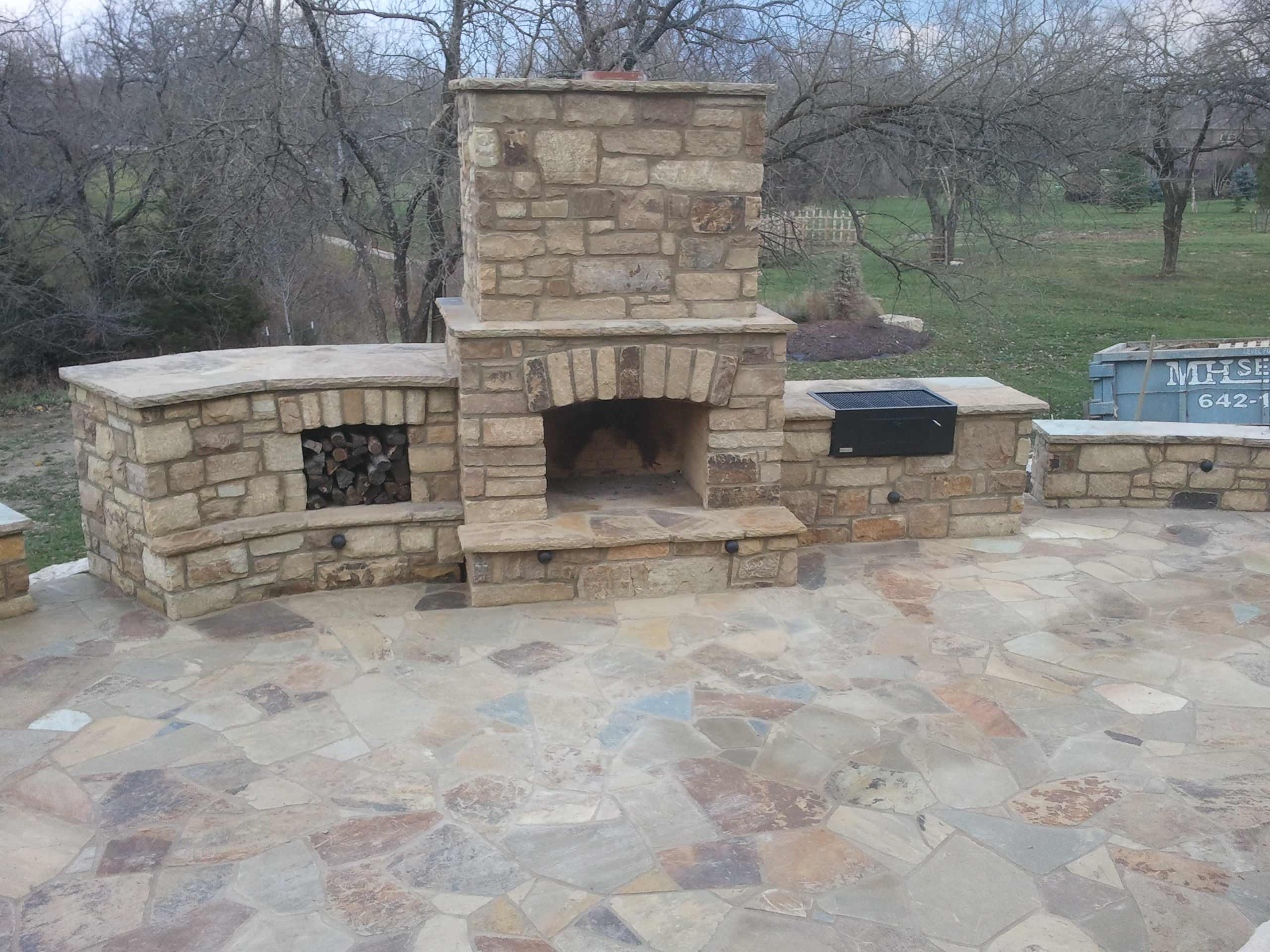 Outdoor Fireplaces, Fire Pits and Fire Features