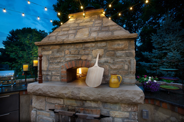 Outdoor Kitchen Traditional Landscape Columbus By