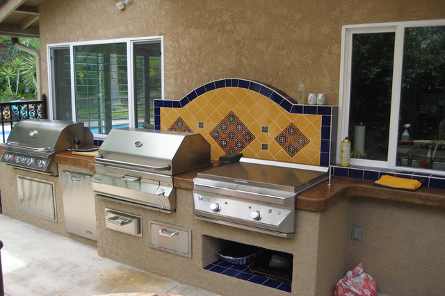 Outdoor Bbq Kitchens Islands Homes Decoration Tips