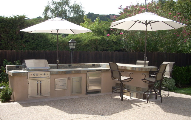 Outdoor kitchens landscape